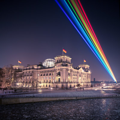 Global Rainbow Over Berlin - LGBT Pride